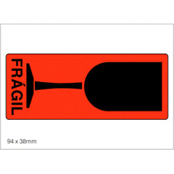 Etiquetas COPA (Frágil)