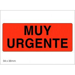 Etiquetas MUY URGENTE